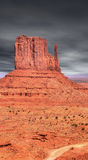 Dasrk Skies Monument Valley Royalty Free Stock Image