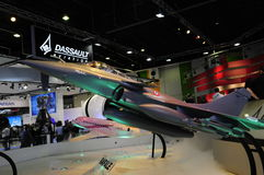 Dassault aircraft in paris air show Royalty Free Stock Photos