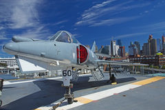 Dassault Etendard IV M, Supermarine F-1 royalty-vrije stock afbeelding