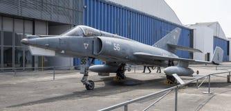 Dassault Etendard IVM1956 dans le musée de l'astronautique et d'A images stock