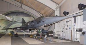 Dassault miraż 4 1964 - tęsk naddźwiękowa pogody bombowiec wewnątrz fotografia stock