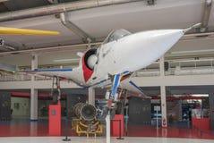 Dassault miraż 2000-01 1978 w muzeum astronautyka i Fotografia Royalty Free