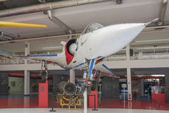 Dassault Mirage 2000-01 1978 in the Museum of Astronautics and. Le Bourget, Paris, France- May 04,2017: Dassault Mirage 2000-01 1978 in the Museum of Royalty Free Stock Photography