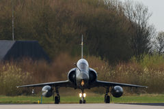 Dassault Mirage 2000 preparing for the Frisian Flag exercise Stock Images