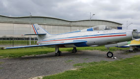 Dassault Mystere IV A stock afbeeldingen