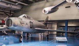 Dassault Mystere 4 A n-01- bombowiec samolot pierwszy t Fotografia Stock