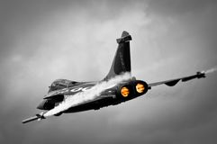 Dassault Rafale B&W Fotografie Stock