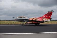 Dassault Rafale bij NAVO Tiger Meet 2014 Royalty-vrije Stock Afbeeldingen