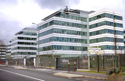 Dassault Systemes Company Stock Photography