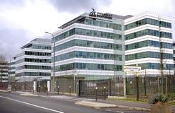 Dassault Systemes Företag Arkivbild