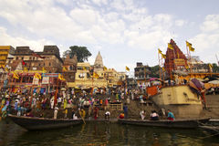 Daswaswamedh Ghat Stock Images