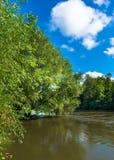 Dat pieno di sole sul fiume Immagine Stock Libera da Diritti