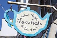Dat Weinig Teashop in de Stegen in Brighton royalty-vrije stock afbeeldingen