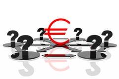 Dat zal met euro zijn? Royalty-vrije Stock Afbeeldingen