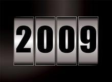 data 2009 illustrazione vettoriale