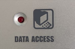 Data access. Royalty Free Stock Image