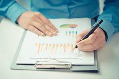 Data analysis Royalty Free Stock Photo