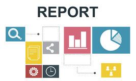 Data Analysis Analytics Information Report Concept.  Stock Photos