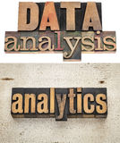Data analysis and analytics Royalty Free Stock Image