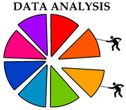 Data analysis Royalty Free Stock Photos