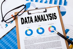 Data analysis concept Stock Images