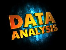 Data Analysis Concept on Digital Background. Stock Photography