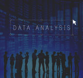 Data Analysis Digital Information Operation Concept Stock Photo
