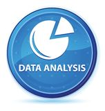 Data analysis (graph icon) midnight blue prime round button. Data analysis (graph icon) isolated on midnight blue prime round button abstract illustration royalty free illustration