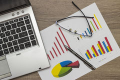 Data analysis Stock Photography