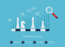 Data analysis, strategy planning Stock Images