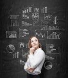 Data analysis Stock Photo