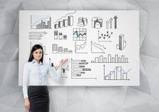 Data analysis Royalty Free Stock Images