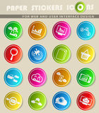 Data analytic icon set. Data analytic  icons for user interface design Royalty Free Stock Images