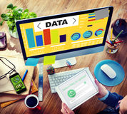 Data Analytics Chart Performance Pattern Statistics Information Stock Images