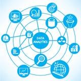 Data analytics concept Royalty Free Stock Image