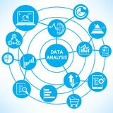 Data analytics concept Stock Photography