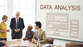 Data Analytics Progress Summary Computer Concept Stock Photos