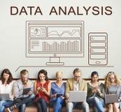 Data Analytics Progress Summary Computer Concept Stock Image