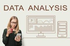 Data Analytics Progress Summary Computer Concept Royalty Free Stock Image
