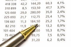 Data analyzing Royalty Free Stock Photos