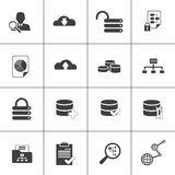 Data base analysis and development web icon. Data base analysis,development web icon Royalty Free Stock Image