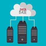 Data base design. Illustration eps10 graphic Stock Photo