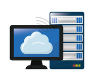 Data base design. Stock Photos