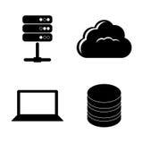 Data base design. Stock Image