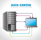 Data base design. Royalty Free Stock Photography