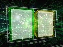 Data boxes Royalty Free Stock Image