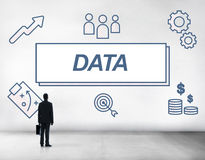 Data Business Facts Information Graphic Concept Stock Photo