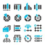 Data,category management icon. Set,vector illustration Stock Photos