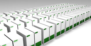 Data Center Royalty Free Stock Image