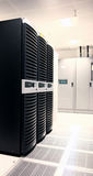 Data Center. Internet Service Providers Premises - Datacenter royalty free stock photos